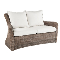 Kingsley Bate Sag Harbor Deep Seating Settee