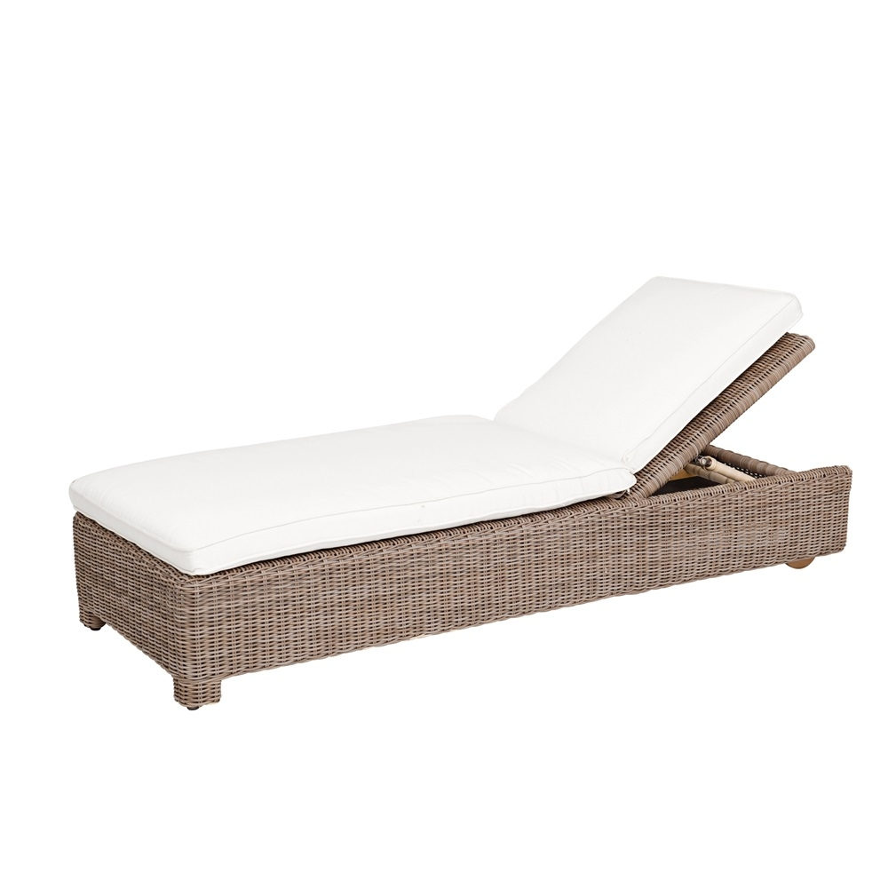Kingsley Bate Sag Harbor Adj. Chaise Lounge w/Wheels  sc 1 st  Porch and Patio Casual : kingsley bate chaise lounge - Sectionals, Sofas & Couches