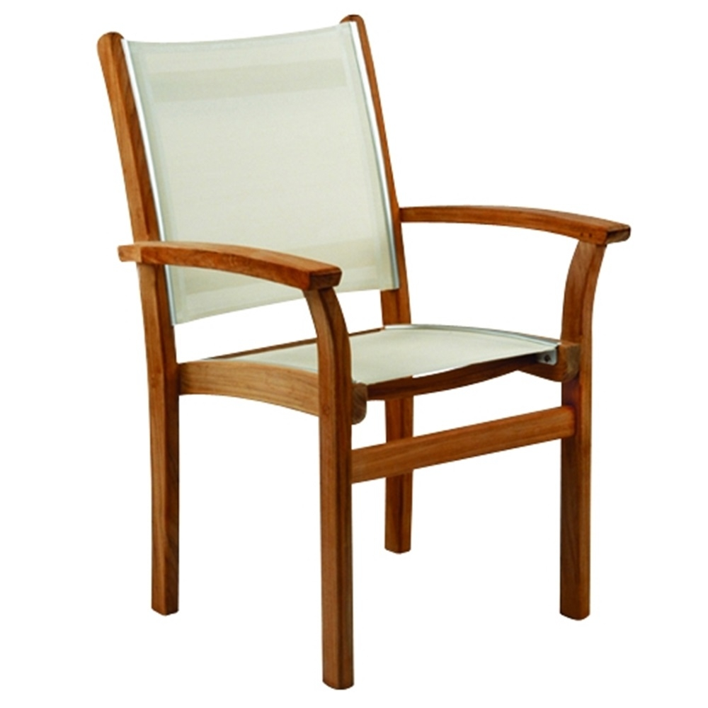 Kingsley Bate St Tropez Dining Armchair Stacking