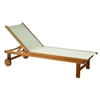 Kingsley Bate St. Tropez Adj. Chaise Lounge w/Wheels