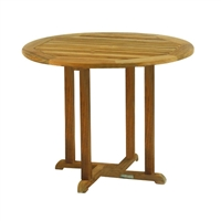 "Kingsley Bate Essex 36"" Rd. Dining Table"