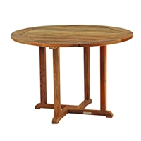 "Kingsley Bate Essex 50"" Rd. Dining Table"