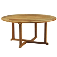 "Kingsley Bate Essex 60"" Rd. Dining Table"