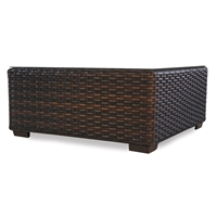 "Lloyd Flanders Contempo 40"" Sq Coffee Table"