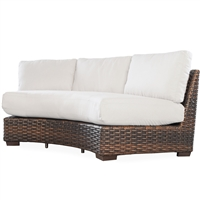 Lloyd Flanders Contempo Curved Sofa