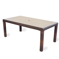 "Lloyd Flanders Contempo 72"" Rect. Dining Table"