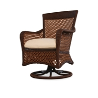 Lloyd Flanders Grand Traverse Swivel Dining Chair