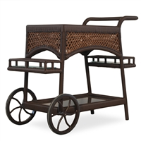 Lloyd Flanders Grand Traverse Serving Cart