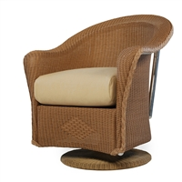 Lloyd Flanders Reflections Swivel Dining Chair