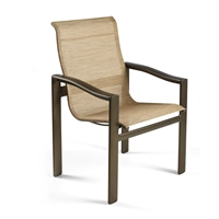 Winston Belvedere High Back Sling Dining Chair