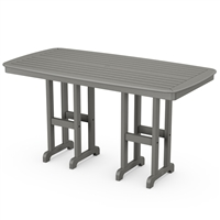 "Polywood Nautical 37"" x 72"" Counter Table"