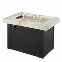 "Outdoor Greatroom 36"" X 25"" White Providence Fire Pit"