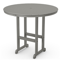 "Polywood Traditional 48"" Round Bar Table"