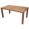"Royal Teak 63"" Comfort Table"