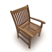 Royal Teak Compass Dining Chair