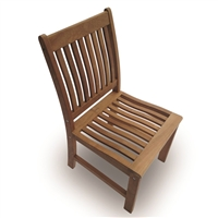 Royal Teak Compass Side Chair