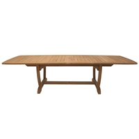 "Royal Teak 84/102/118"" Extension Table"