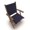 Royal Teak Sailmate Sling Folding Armchair