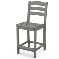 Polywood La Casa Cafe Counter Side Chair