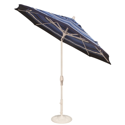 Treasure Garden 9 Aluminum Auto Tilt Umbrella