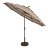 Treasure Garden 11' Auto Tilt Market Umbrella