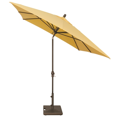 Treasure Garden 8 x 10' Crank Lift Rectangular Umbrella