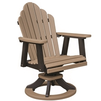 Berlin Gardens Cozi Back Swivel Rocker Chair