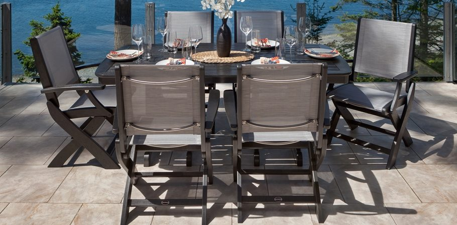 Fabulous Polywood Coastal Dining Collection Porch And Patio Dailytribune Chair Design For Home Dailytribuneorg