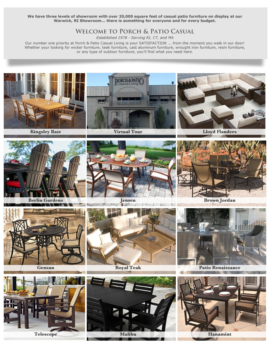 Porch And Patio Casual Your Outdoor Furniture Super Store