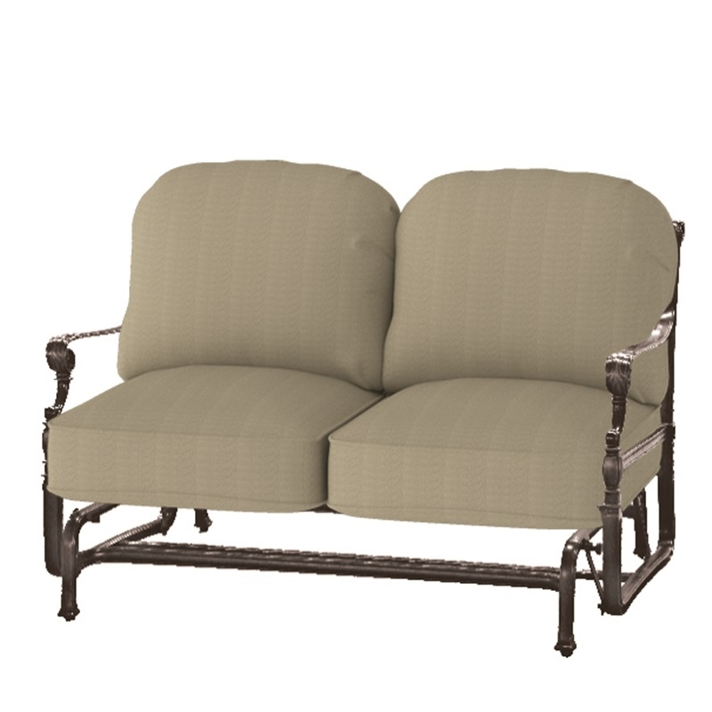 Gensun Grand Terrace Loveseat Glider Larger Photo