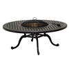 "Gensun Grand Terrace 54"" Rd Fire Pit Table"