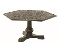 "Hanamint Tuscany 54"" Hexagon Table (61"" tip to tip)"