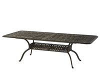 "Hanamint Tuscany 42"" x  76""/100"" Rectangular Extension Table"