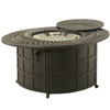 "Hanamint Mayfair 39""x52"" Propane Fire Pit Table"