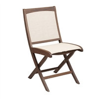 Jensen Leisure Topaz Folding Sling Side Chair