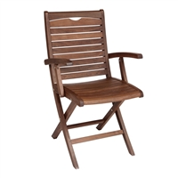 Jensen Leisure Topaz Folding Arm Chair
