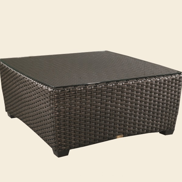 "Industrial Renaissance Outdoor Coffee Table: Patio Renaissance Kapaa 42"" Square Coffee Table"