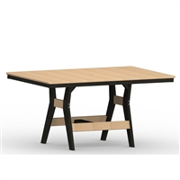 "Berlin Gardens 33"" x 66"" Rect Harbor Dining Table"