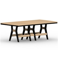 "Berlin Gardens 44"" x 96"" Rect Harbor Dining Table"