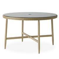 "Lloyd Flanders Fairview 48"" Rd Dining Table"