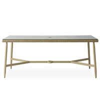 "Lloyd Flanders Fairview 73"" Rect. Dining Table"
