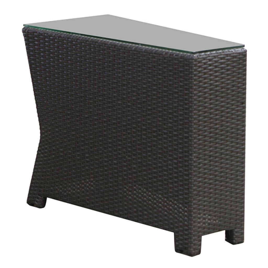 north cape cabo wedge end table