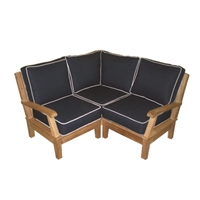 Royal Teak Miami Sectional Corner Unit