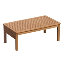 "Royal Teak Miami 43"" Rect Coffee Table"