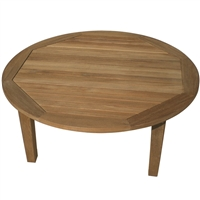 "Royal Teak Miami 42"" Rd Chat Table"